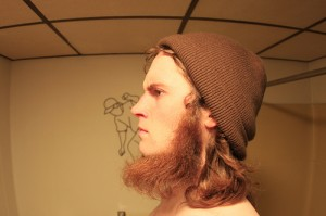 hipster with neckbeard david wygant