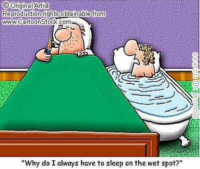 Always wet when having sex